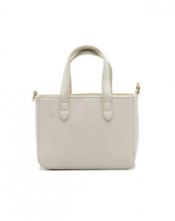 Chain Detail Mini Grab Bag - Beige