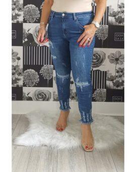Alesha High Waisted Ripped Jeans